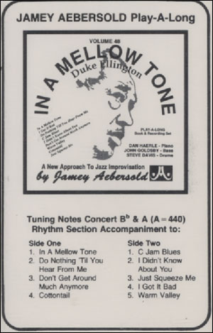 Volume 48 - Duke Ellington - In A Mellow Tone - CASSETTE ONLY