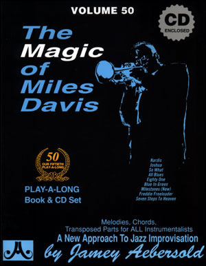 Volume 50 - The Magic Of Miles Davis - BOOK ONLY
