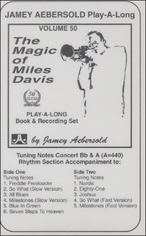 Volume 50 - The Magic Of Miles Davis - CASSETTE ONLY