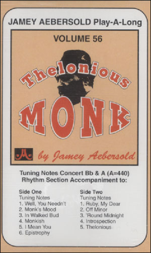 Volume 56 - Thelonius Monk - CASSETTE ONLY