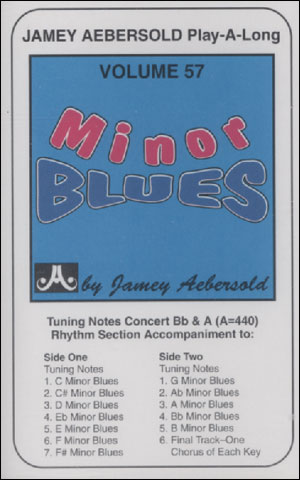 Volume 57 - Minor Blues In All Keys - CASSETTE ONLY