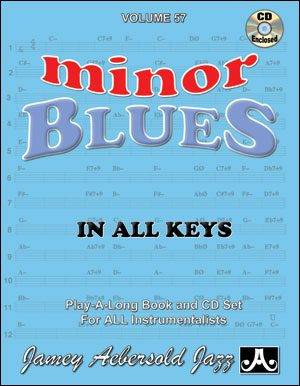 Volume 57 - Minor Blues In All Keys - CD ONLY