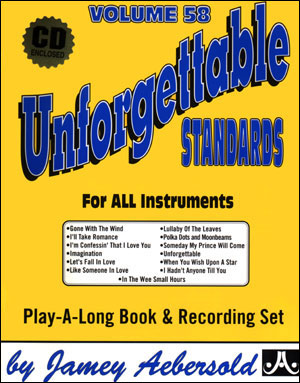 Volume 58 - Unforgettable - CD ONLY