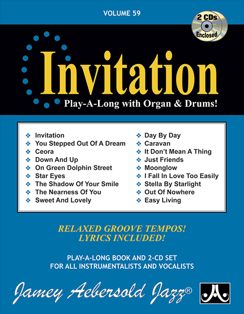 VOLUME 59 - INVITATION - Play-a-long With B3 Organ!
