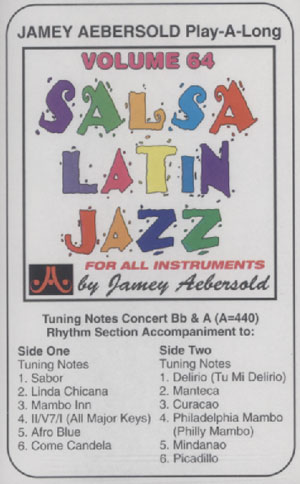 Volume 64 - Salsa/Latin Jazz - CASSETTE ONLY