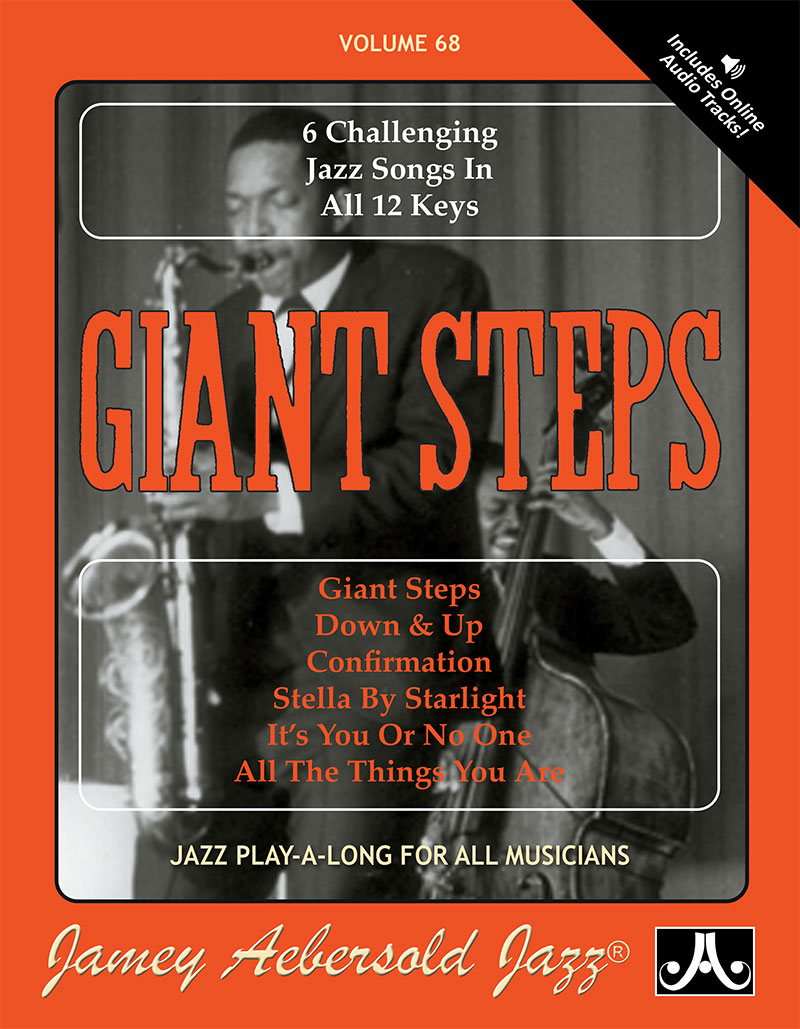 VOLUME 68 - GIANT STEPS - STANDARDS IN ALL KEYS