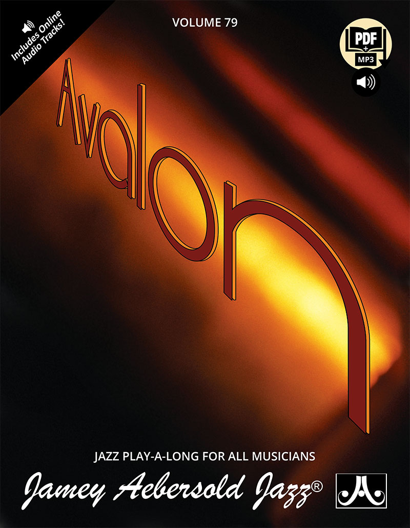 AEBERSOLD PLAY-A-LONG VOL. 79 - AVALON