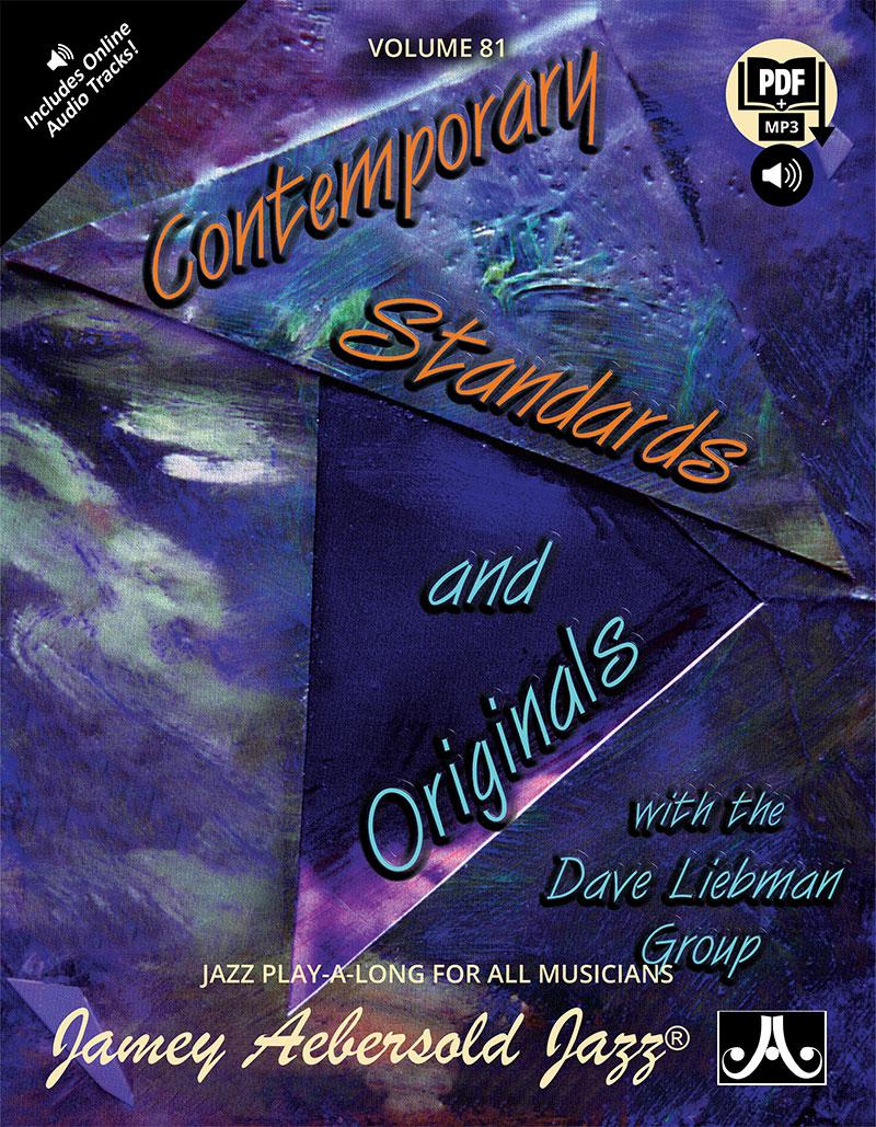AEBERSOLD PLAY-A-LONG VOL. 81 - DAVID LIEBMAN - STANDARDS & ORIGINALS