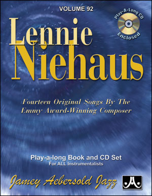 AEBERSOLD PLAY-A-LONG VOL. 92 - LENNIE NIEHAUS