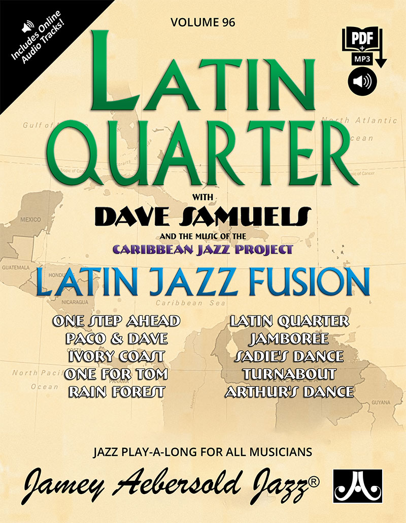 VOLUME 96 - DAVE SAMUELS - LATIN QUARTER