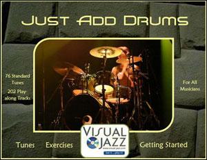 Visual Jazz - Just Add Drums - DVD