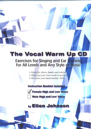 The Vocal Warm Up Cd For Men - By Ellen Johnson