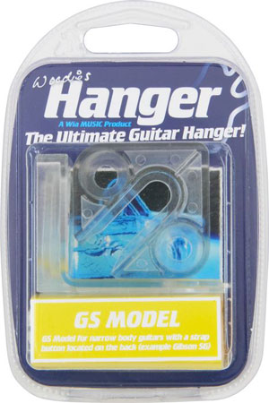 Woodies Guitar Hanger - GS-03 Solid Guitar Style Model (Gibson SG Style)