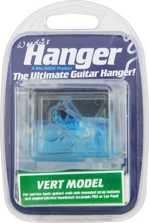 Woodie's Guitar Hanger - VM-02 Vertical Model (Les Paul Style)