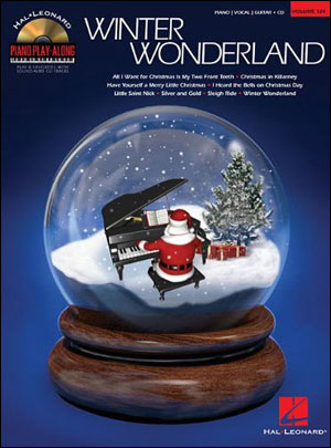 Winter Wonderland - Piano Play-Along Vol. 124 - Bk/CD