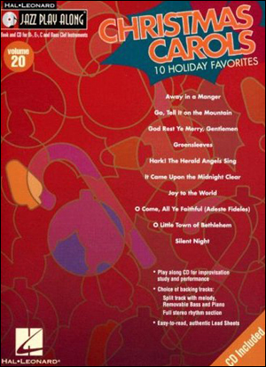 Hal Leonard Play-Along Vol. 20 - Christmas Carols: 10 Holiday Favorites