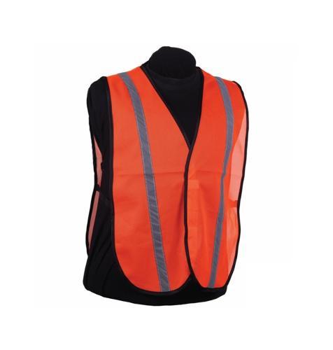 2W Economy Mesh Orange Safety Vest