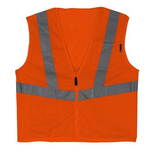 LIFT Safety Viz-Pro Orange Vest - Large