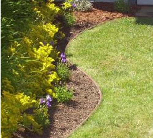 5 1/4 in x 20 ft Composite BenderBoard Landscape Edging