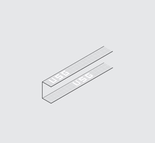12 ft x 1 5/8 in x 1 in USG Drywall Suspension System U Channel - DGCM27