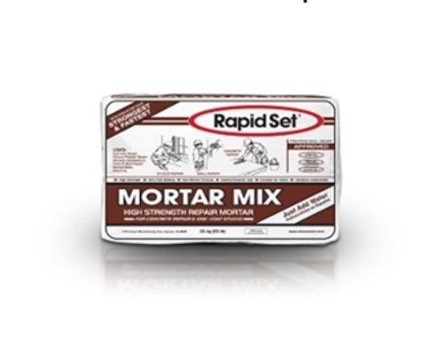 CTS Cement Rapid Set Mortar Mix - 50 lb