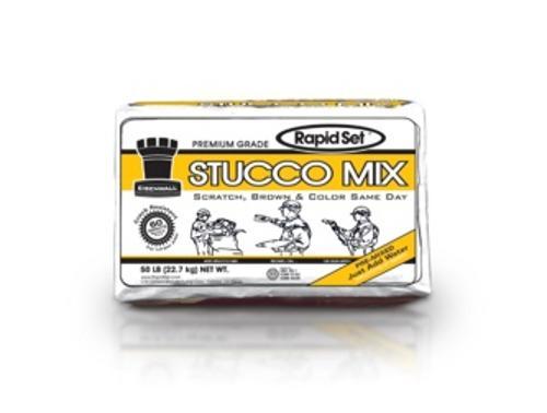 CTS Cement Rapid Set Stucco Mix - 50 lb
