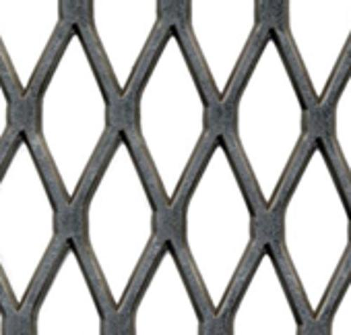 4 ft x 8 ft x 9 Gauge Steel Security Mesh - 1 1/2 in