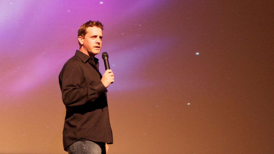 J Cornelius - speaking in New York City