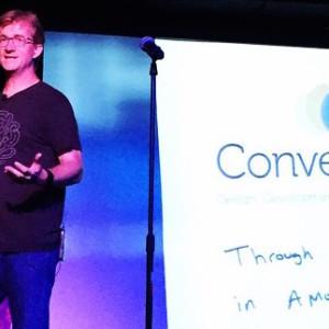 Carl Smith at Converge SE - photo credit Jason Beaird