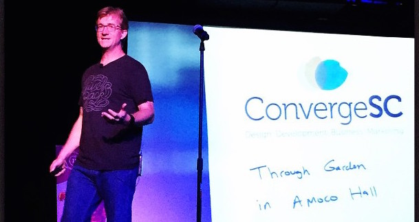 Carl Smith at Converge SE - photo credit Jason Beaird