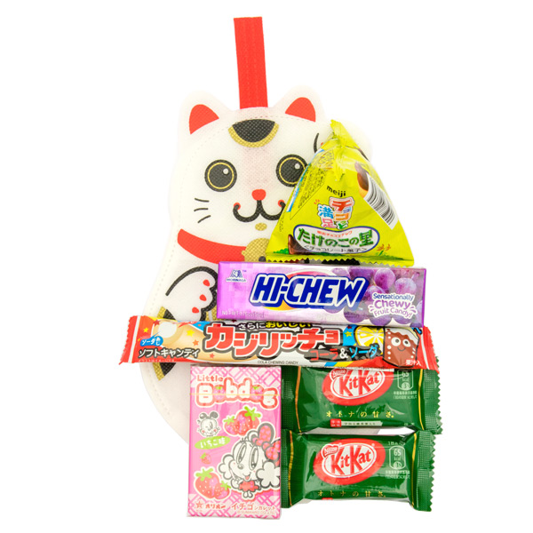 Free Lucky Cat Snack Set