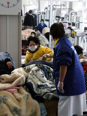 Hospital patients, elderly die due to lack of medical services, cold, stress