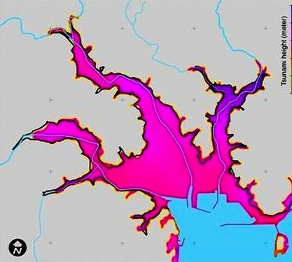 Researchers find way to predict areas likely to be swamped by tsunami