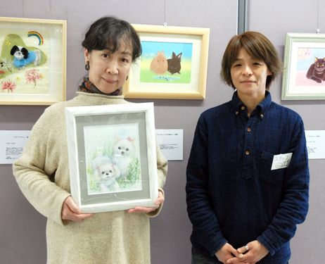 Traveling exhibition features drawings of pets lost in disaster