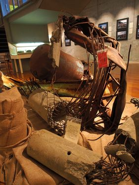Kesennuma exhibition window to 2011 tsunami through photos, debris