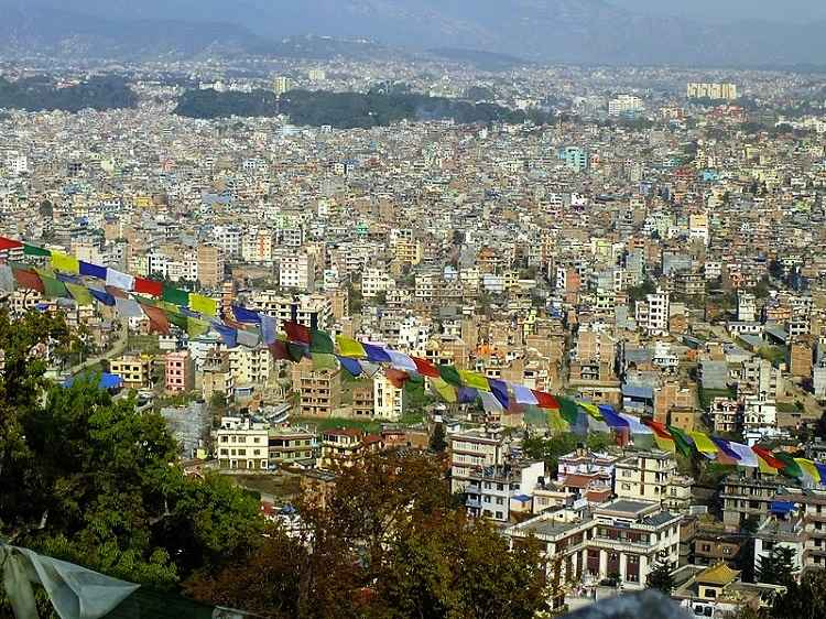 Asian travel destination Kathmandu