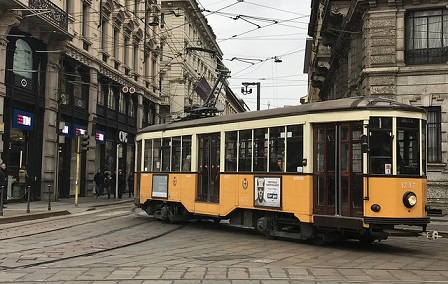Places to Visit in Milan Italy Tram Turistico