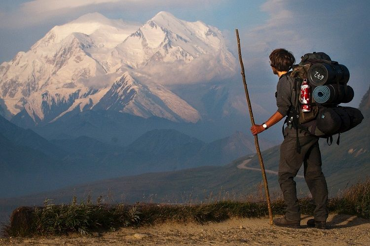 mt. Mount McKinley hiker