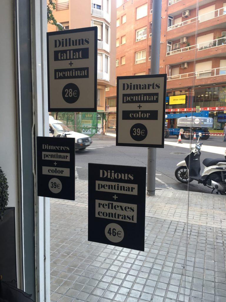 Peluquerías Lleida
