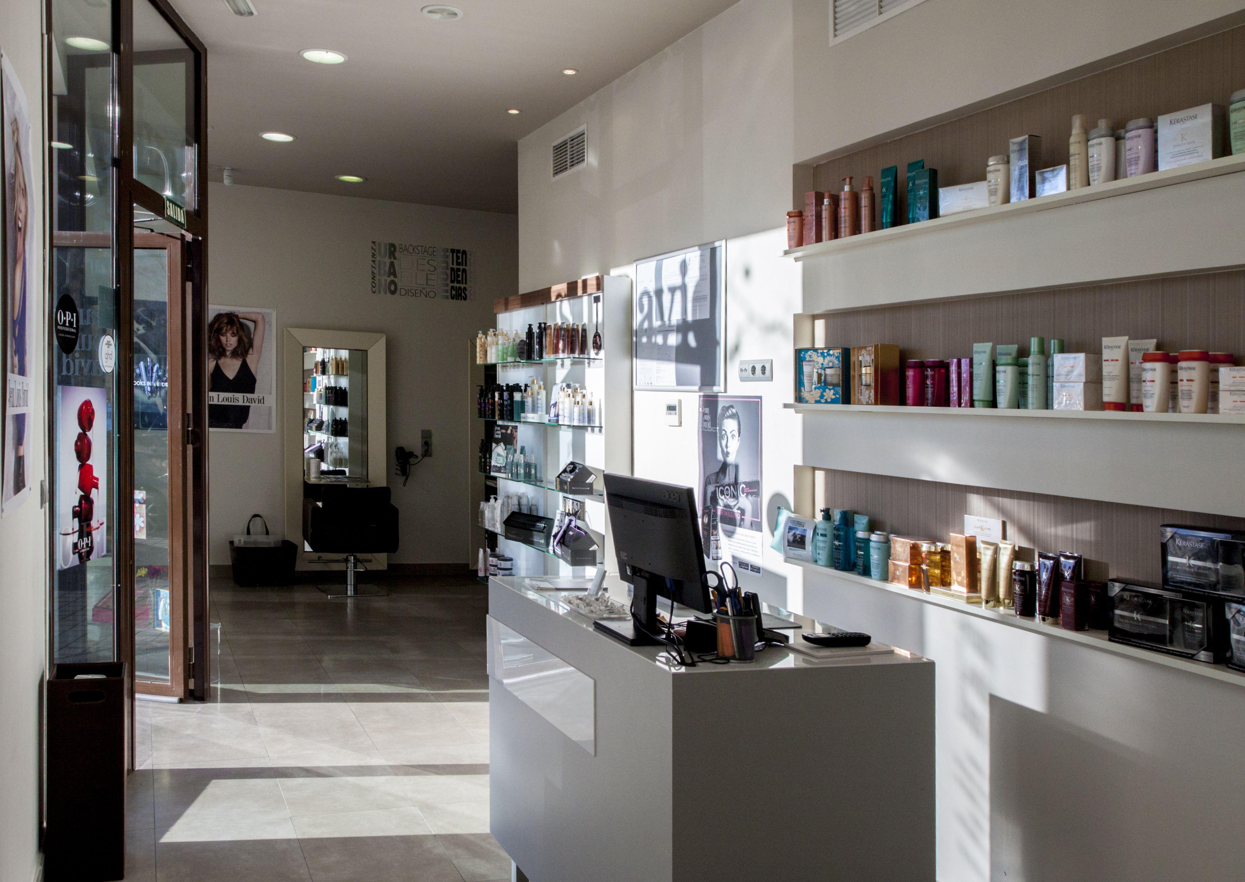 Salones de peluquería Montecarmelo