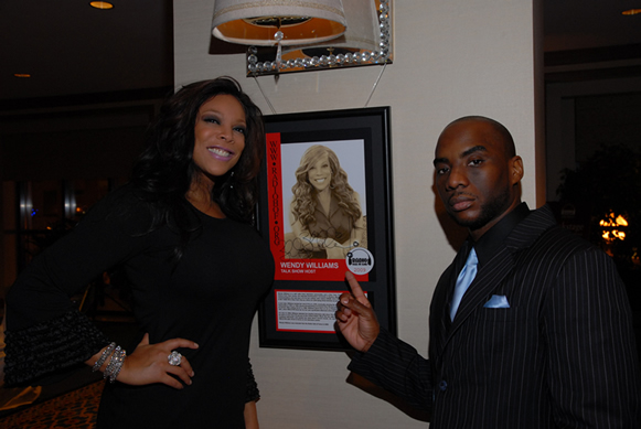Wendy Williams and Charlamagne