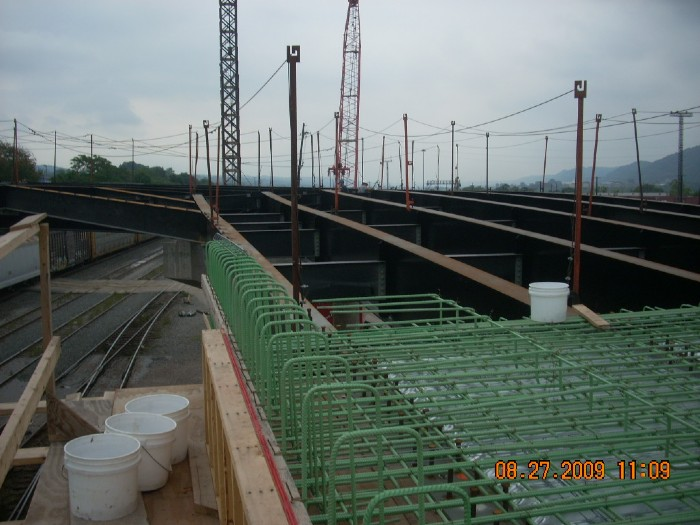 Conway steel erection