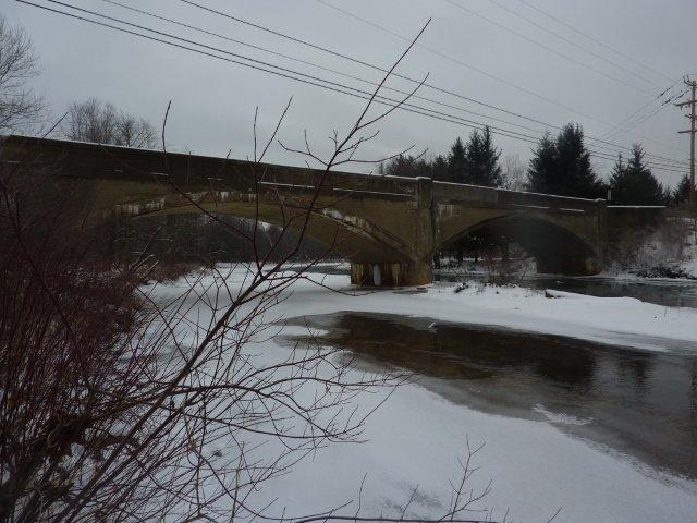 Blacklick bridge before demo