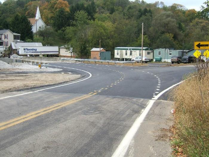SR 18 Roadway