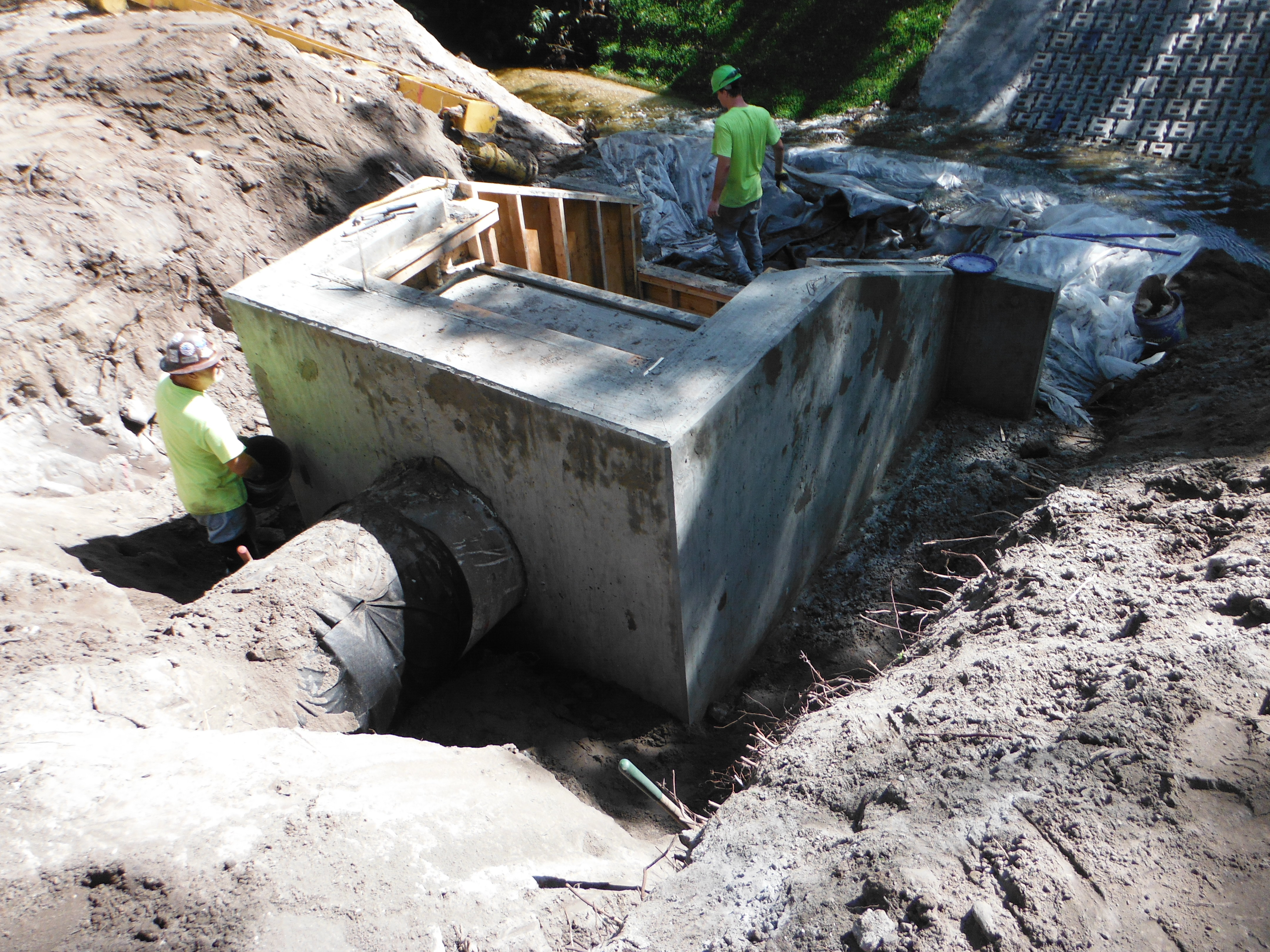 Calabria Drive Stormwater Outfall 8