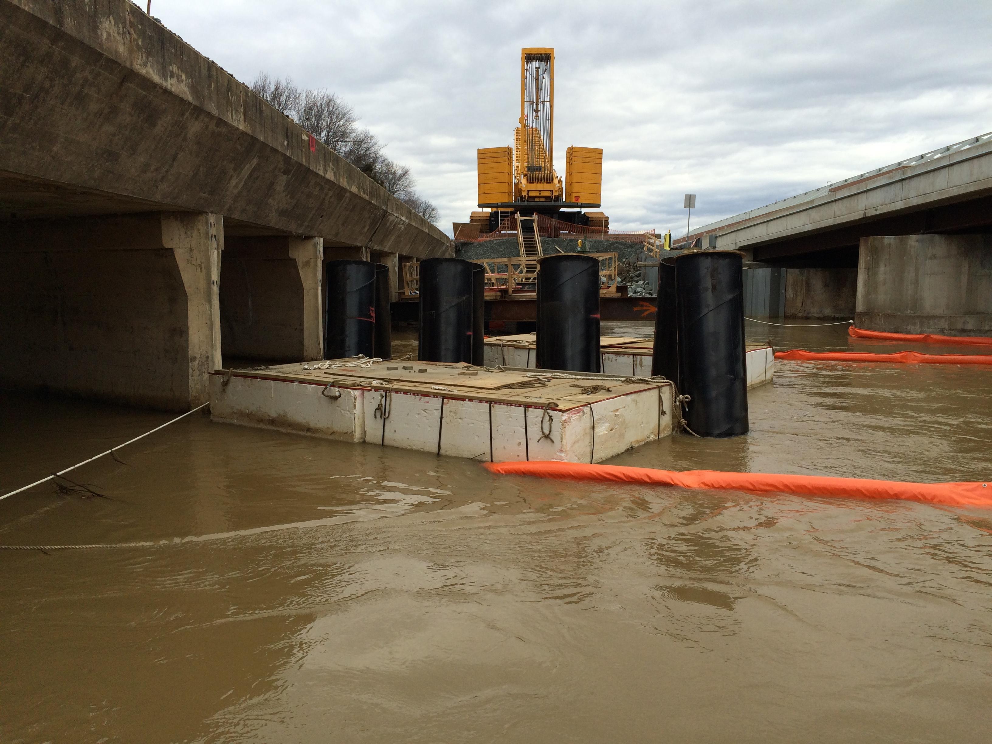 CSX Quantico Bridge Repairs 2