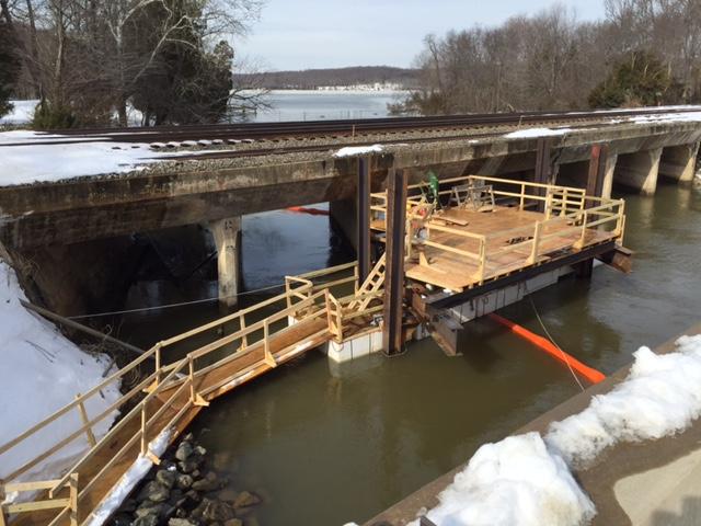 CSX Quantico Bridge Repairs 5