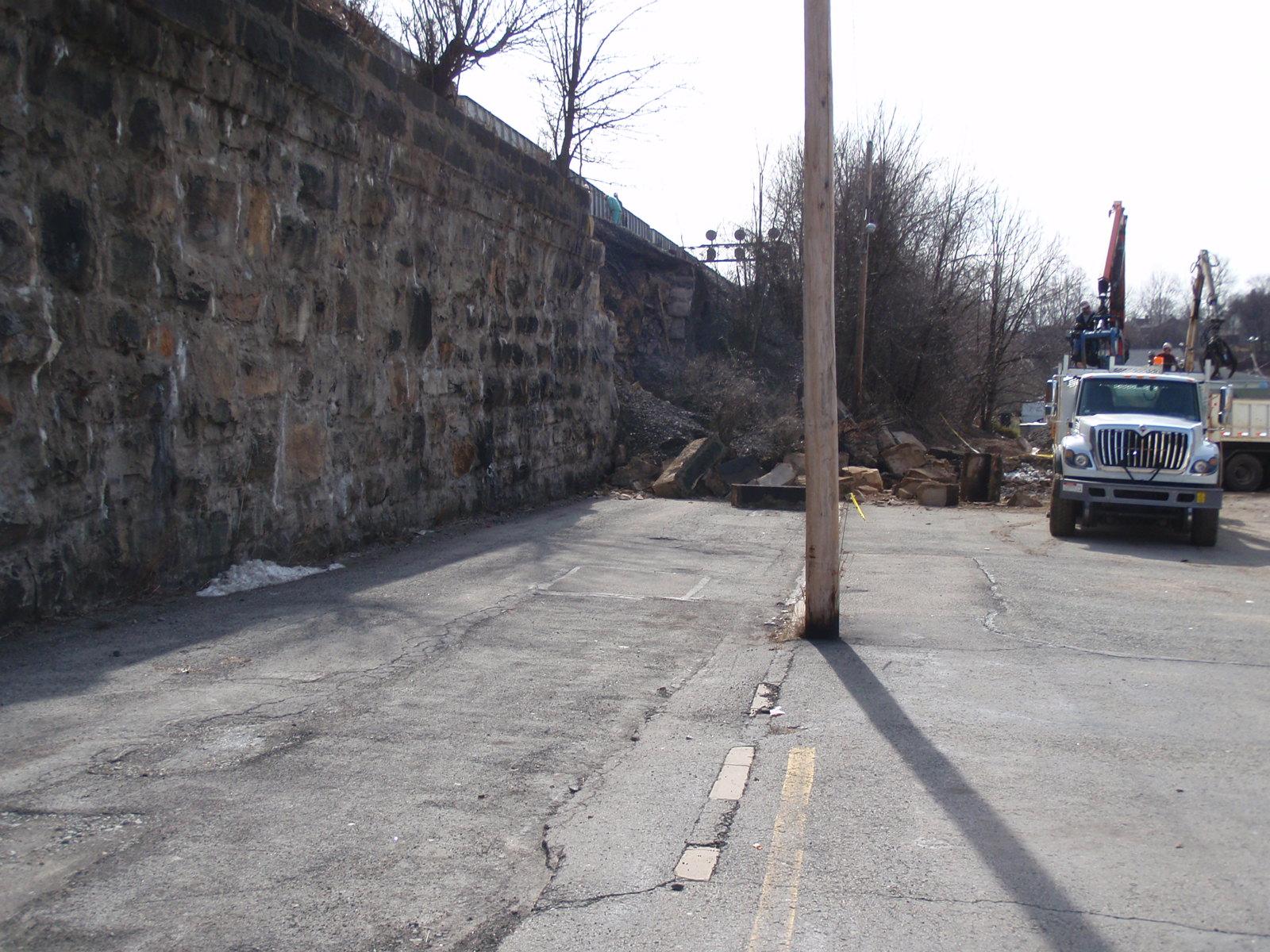 Latrobe Wall Repair 1