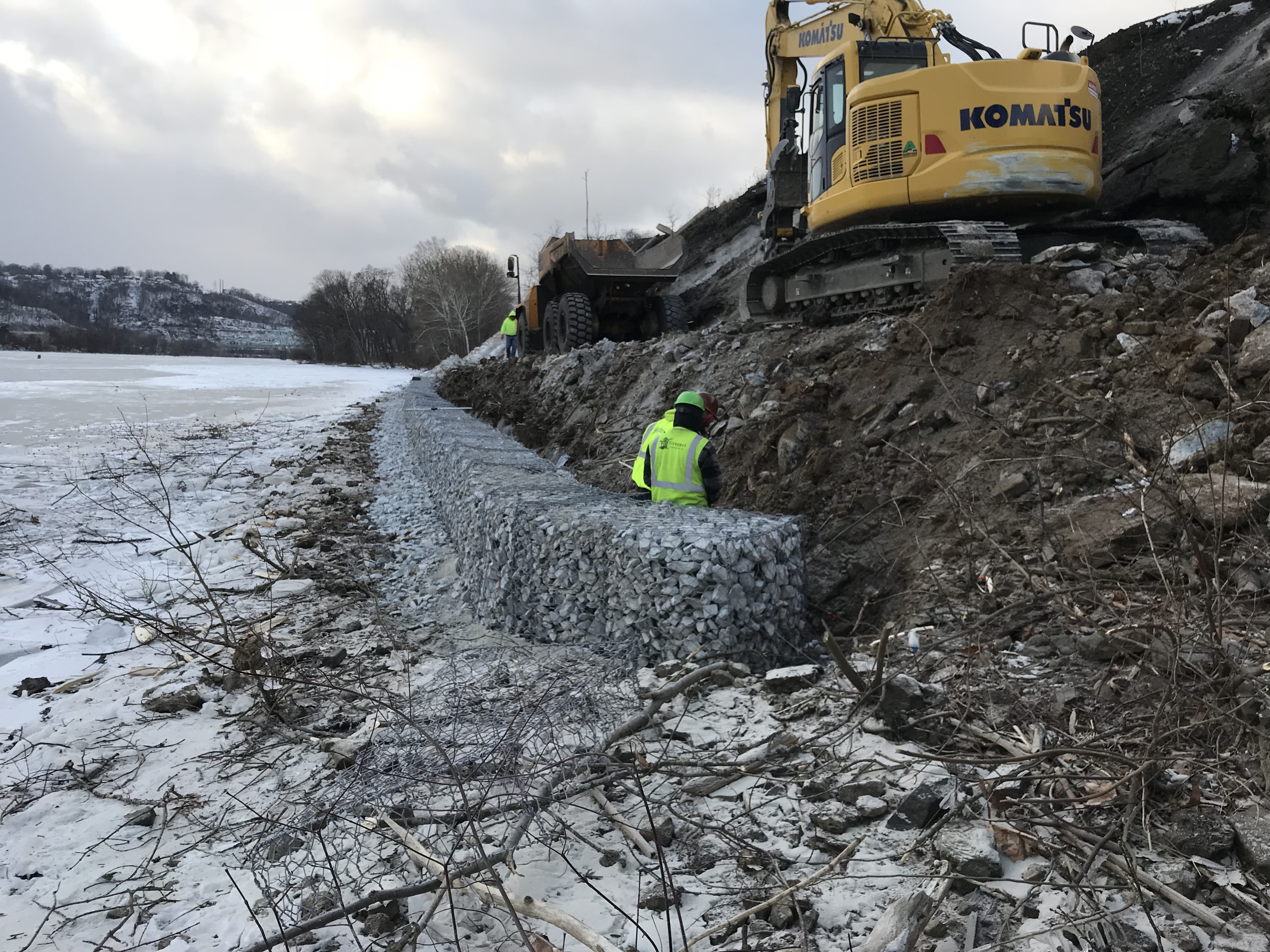 Sewickley Slope Stabilization 3