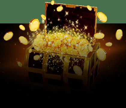 Disfruta la fortuna de ser un Rey ¡Llévate el cofre de premios!